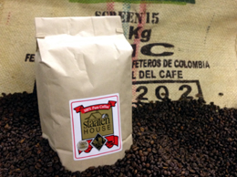 Premium Whole Bean Colombian Coffee